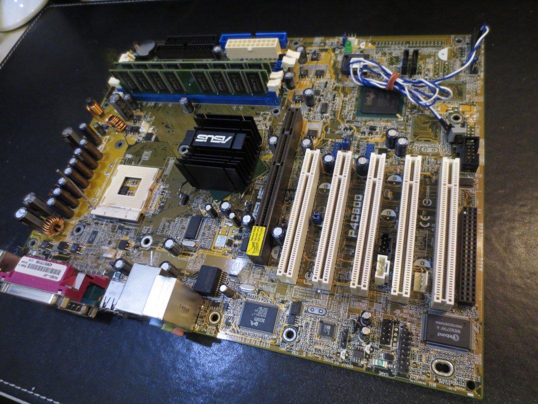 ASUS P4C800 CT-479(下駄)PentiumM770+Widows10-32bit